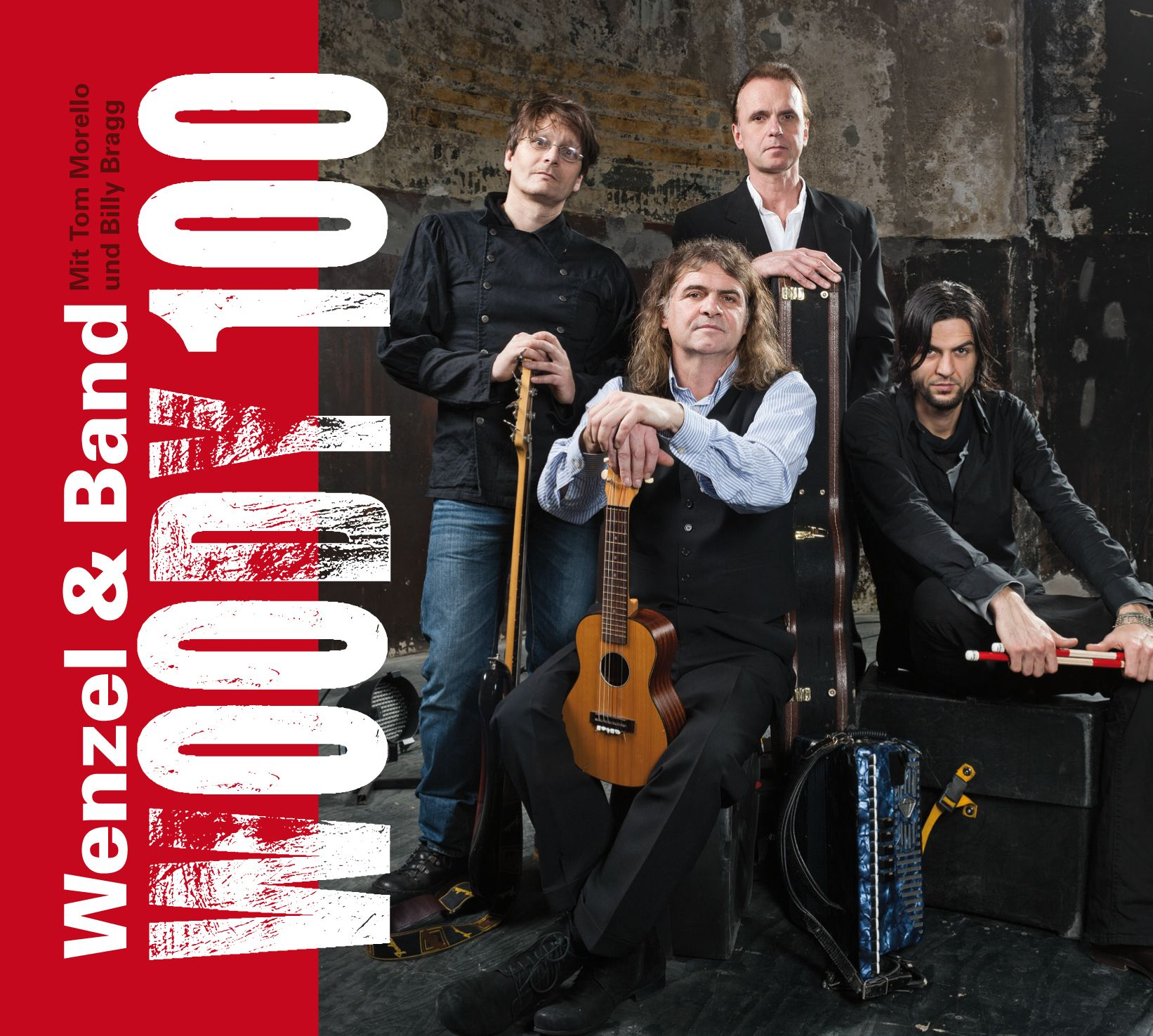 """CD Wenzel & Band """" Woody 100"""" - 2012"""